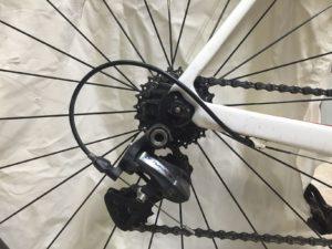 Derailleur cable loop