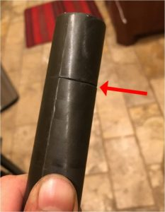 Cracked Steerer Tube